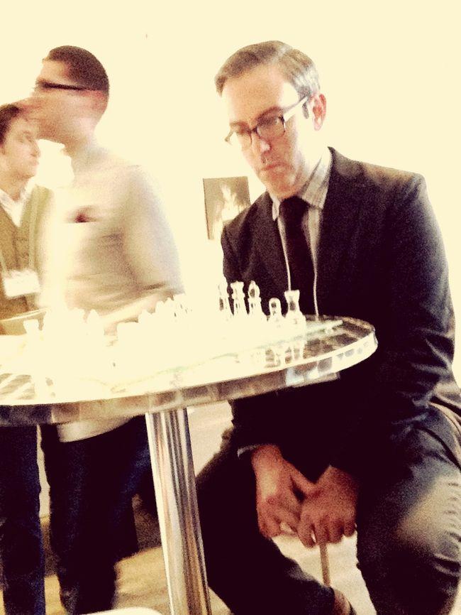 Jason Boyd Plays Chess